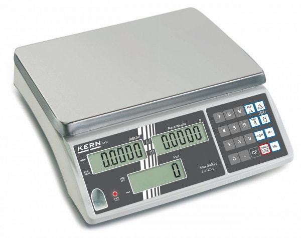 KERN Zählwaagen - 3000 g / 1 g - optional geeicht
