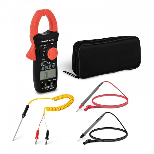 Stromzange - LCD - CAT III - TRMS - Einschaltstrommessung