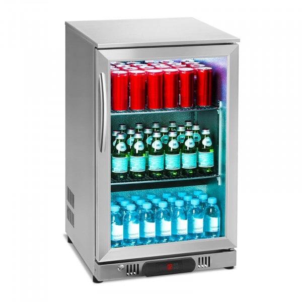 B-Ware Getränkekühlschrank - 108 L - Edelstahlgehäuse