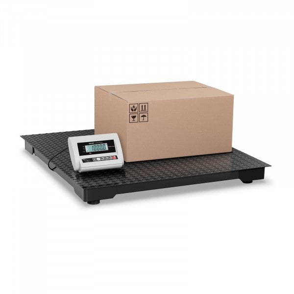 B-WARE Bodenwaage ECO - 1.000 kg / 0,5 kg - LCD