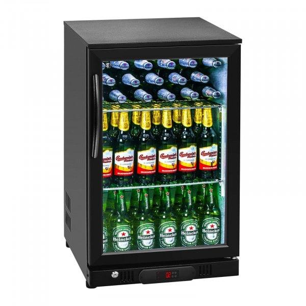 B-Ware Getränkekühlschrank - 108 L - Aluminium innen