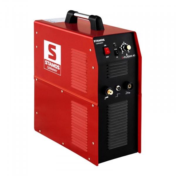 B-Ware Plasmaschneider - 40 A - 230 V - integrierter Druckluftkompressor
