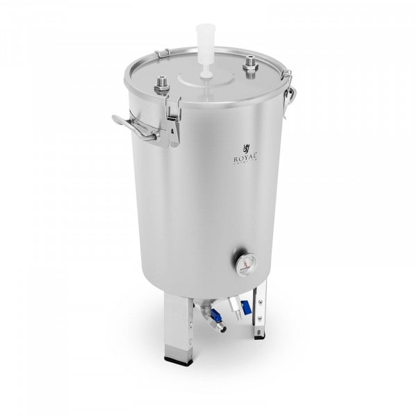 Maischekessel - 30 L - integrierte Kühlspirale