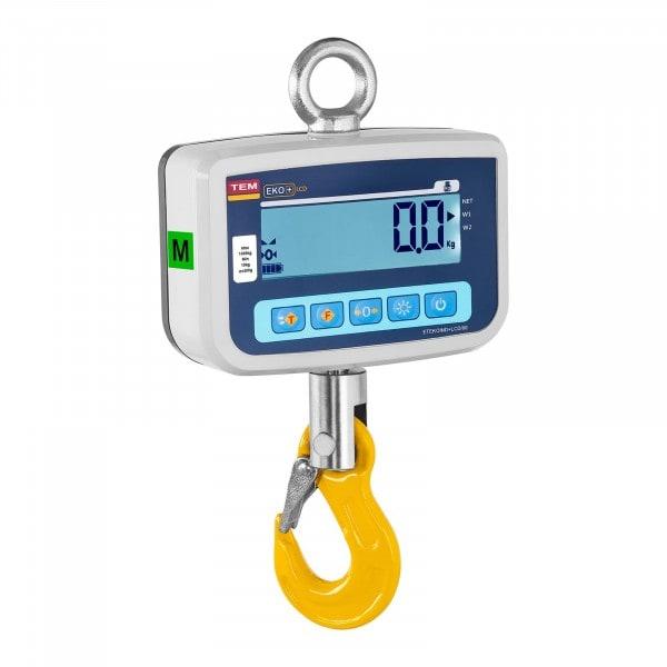 Kranwaage - geeicht - 1.000 kg / 0,5 kg