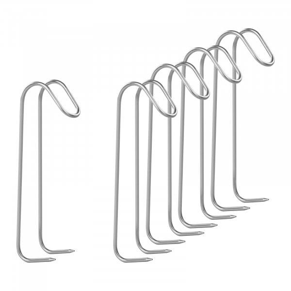 Räucherhaken 5er Set - mit zwei Dornen