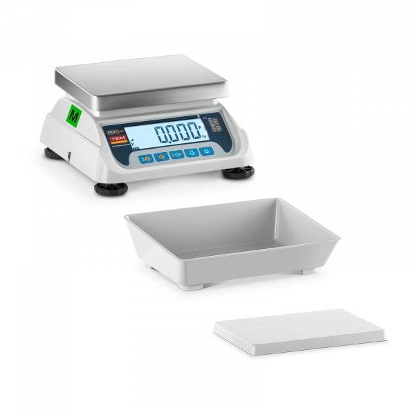 Tischwaage - geeicht - 6 kg / 2 g - LCD