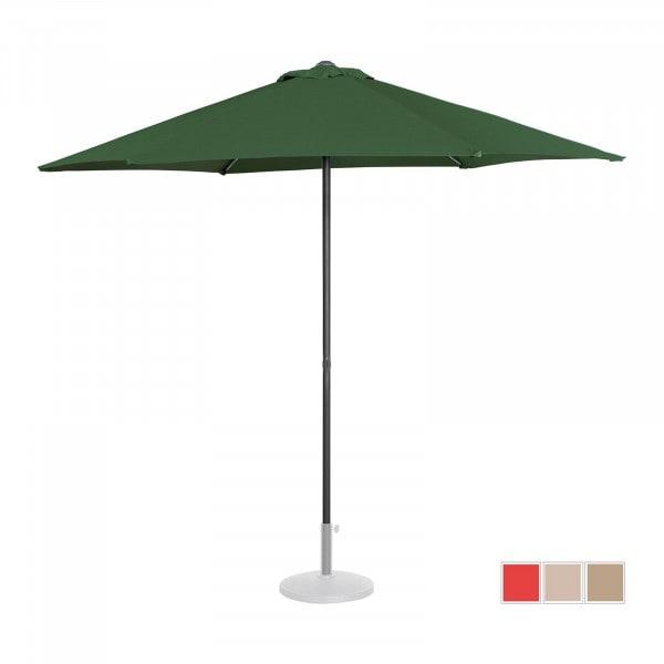 B-Ware Sonnenschirm groß - grün - sechseckig - Ø 270 cm