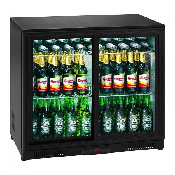 B-Ware Getränkekühlschrank - 208 L - Aluminium innen