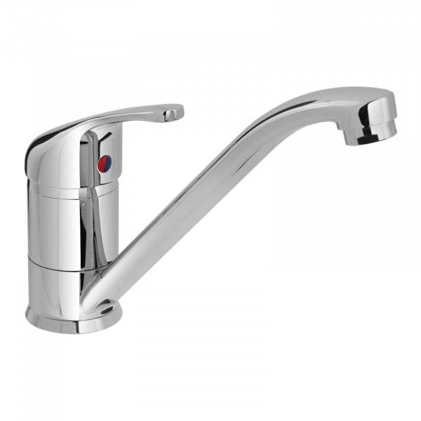 Einhebel-Spültischarmatur - Wasserhahn 215 mm - Messing verchromt
