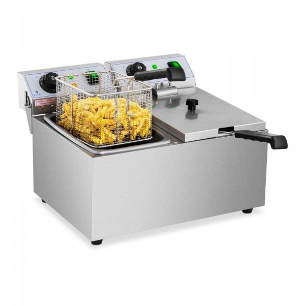 Elektro-Fritteuse - 2 x 8 Liter - 230 V