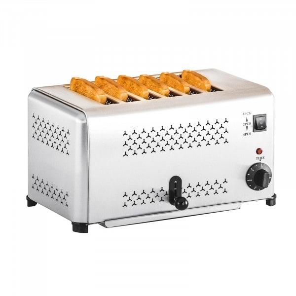 Gastronomie Toaster mit 6 Schlitzen