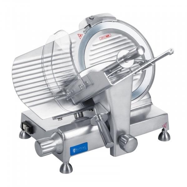B-Ware Aufschnittmaschine - 250 mm - bis 12 mm - Alugriffe
