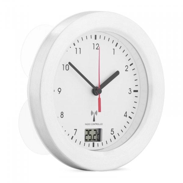 Badezimmeruhr - Funk - 17 cm