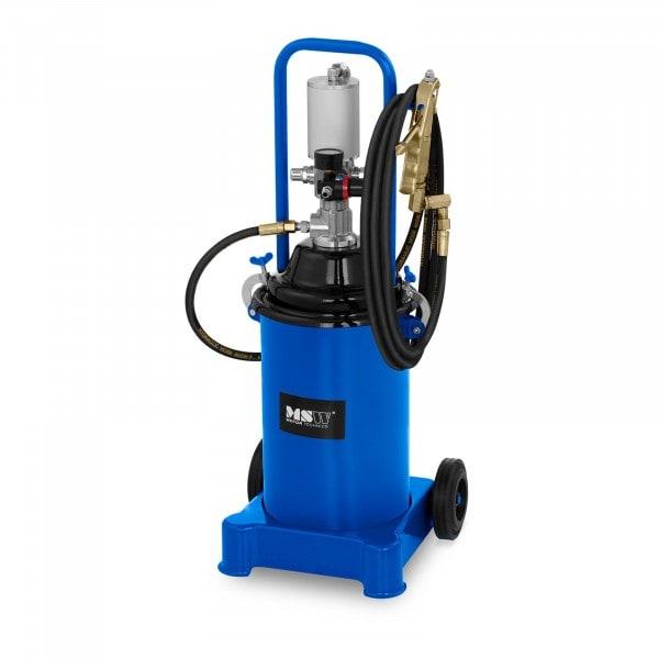 Fettpresse pneumatisch - 12 Liter - fahrbar - 300-400 bar Pumpendruck