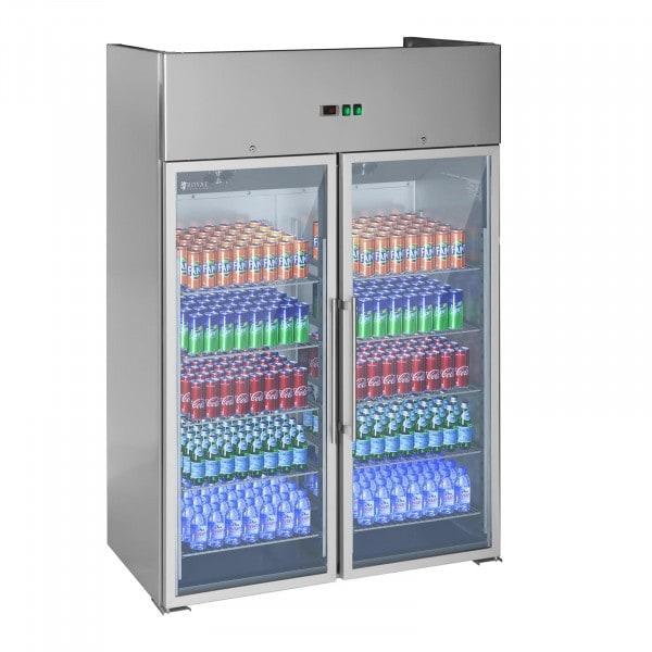 Gastro Kühlschrank mit zwei Glastüren - 984 L