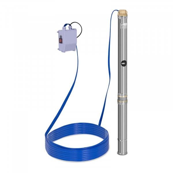 Brunnenpumpe - 3.800 L/h - 550 W - Edelstahl