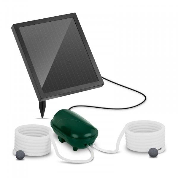 Solar-Teichbelüfter - 2 Steine - 200 l/h