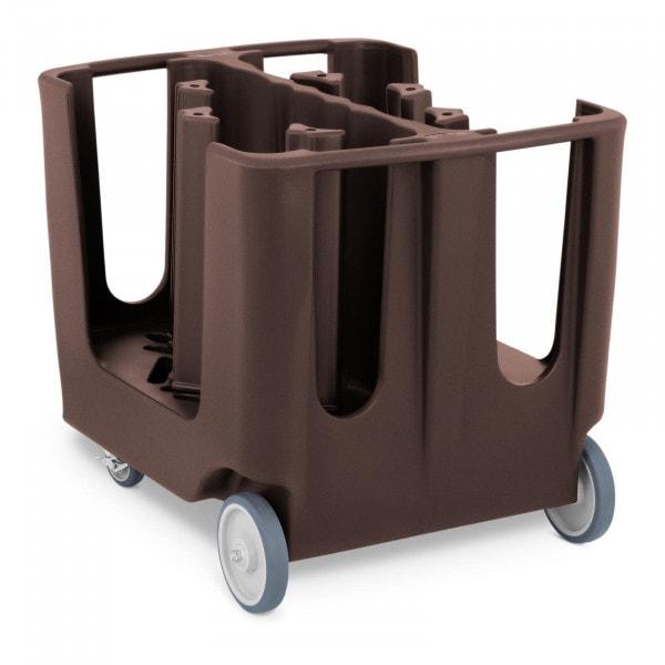 Geschirrwagen - max. 300 Teller - Ø 12 - 33 cm - 6 verstellbare Fächer