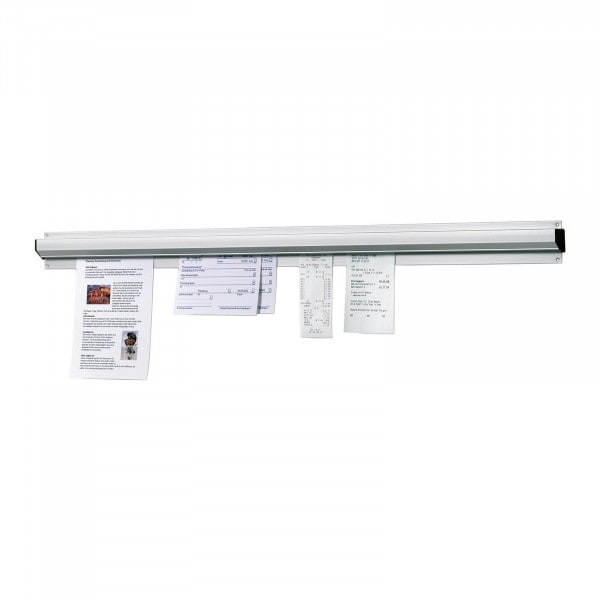 Bartscher Zettelhalter - 610mm - Aluminium