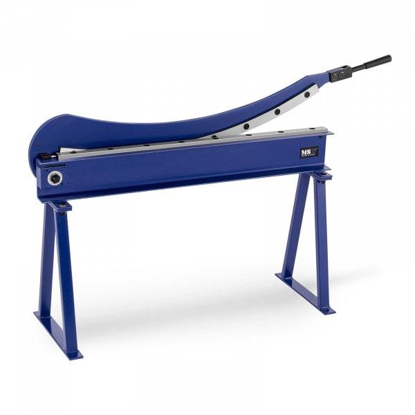 Blechschlagschere – 1.000 mm Schnittlänge - inkl. Untergestell