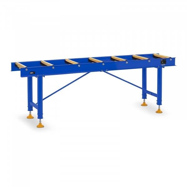 Rollenbahn - 400 kg - 200 cm - 7 Rollen