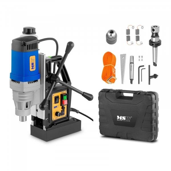 Magnetbohrmaschine - 1.380 Watt - 600 U/min - Weldon-Schaft 19 mm