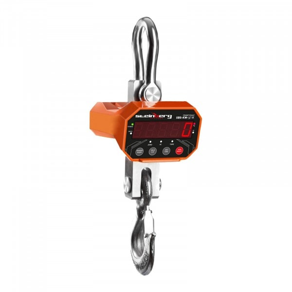 Gesamtansicht von Kranwaage - 3 t / 1 kg - LED - 3084 - 1