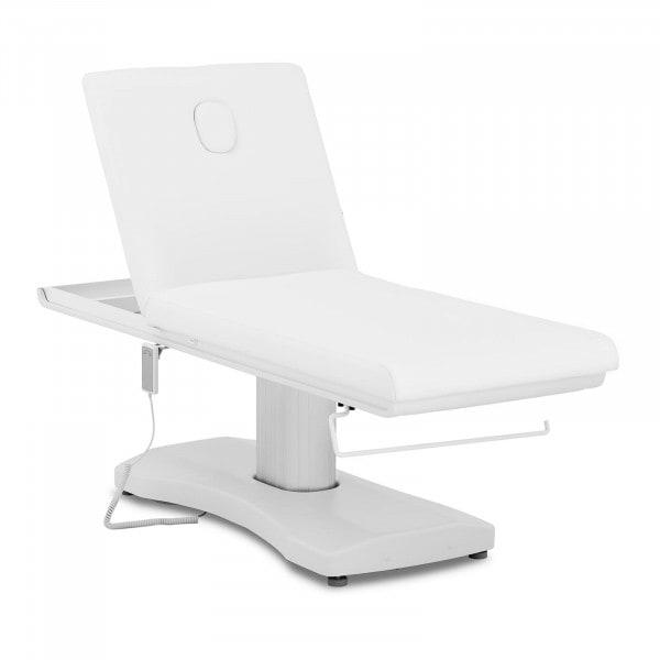 Massageliege LIMOGES WHITE - elektrisch - 175 kg