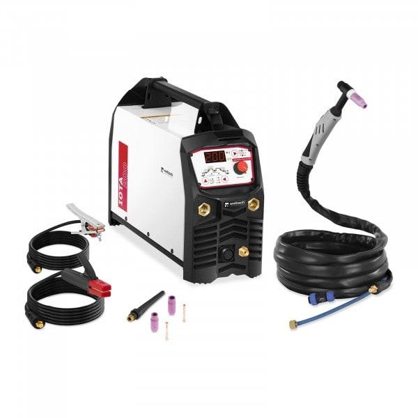 WIG DC Schweißgerät - 200 A - Digital - 230 V - Puls