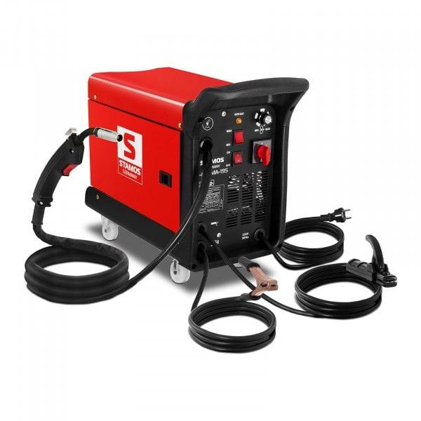 B-Ware MIG/MAG Schweißgerät - 195 A - 230 V - 4 Räder