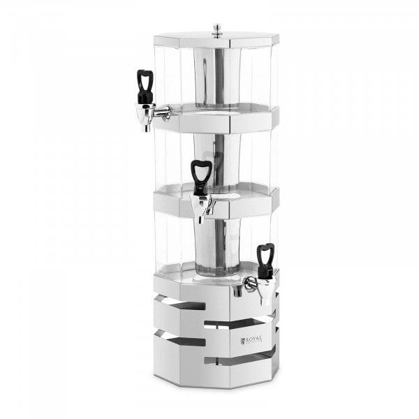 Saftspender - 3 x 3,5 L - Kühlsystem