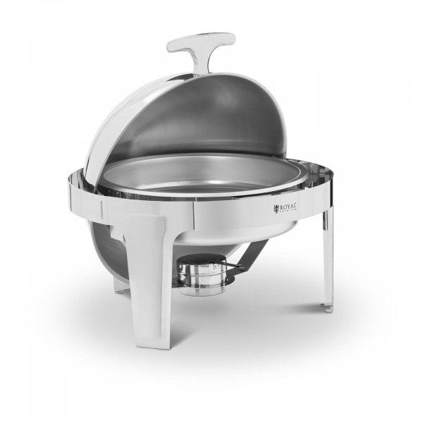 Chafing Dish - Kugelform - 6 L - 1 Brennstoffbehälter