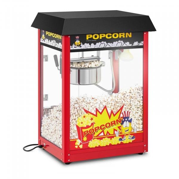 Popcornmaschine - 120 s Arbeitszyklus - schwarzes Dach