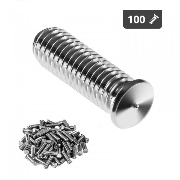 Schweißbolzen - M5 - 15 mm - Edelstahl - 100 Stück