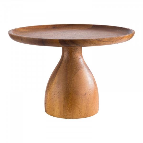 Tortenplatte - Akazienholz, geölt - Durchmesser: 24 cm - Höhe: 16 cm