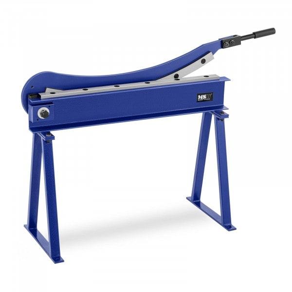 Blechschlagschere - 800 mm Schnittlänge - inkl. Untergestell