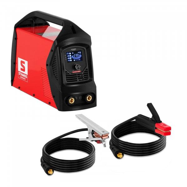 Elektroden Schweißgerät - 230 A - LCD - Hot Start - Arc Force - Griff