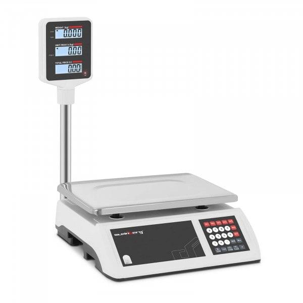 Kontrollwaage - 6 kg / 1 g - LCD-Hochanzeige