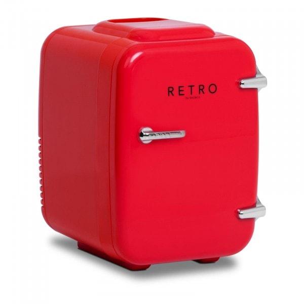 Mini Kühlschrank - 4 L - rot