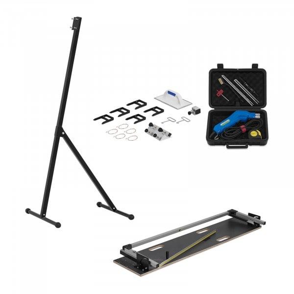 Styroporschneider Set - Easycutter - 200 W und Handschneider Styrocutter - 250 W + Standfuß