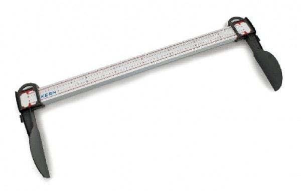 KERN Tragbarer mechanischer Größenmessstab für Babys bis max. 80 cm Körpergröße