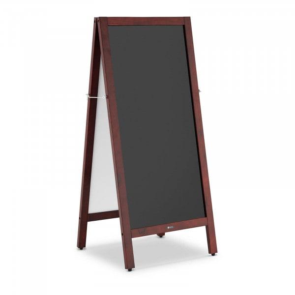 Kundenstopper - 45 x 90 cm - magnetische & beschreibbare Tafel - zweiseitig
