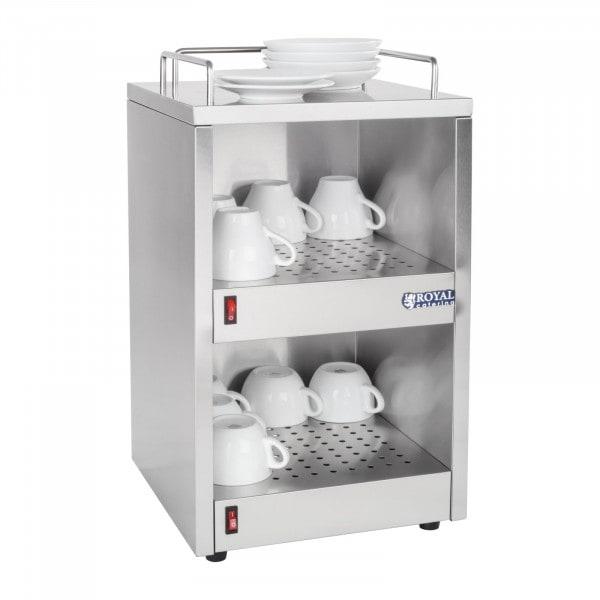 Gesamtansicht befüllt von Tassenwärmer - 48 Tassen