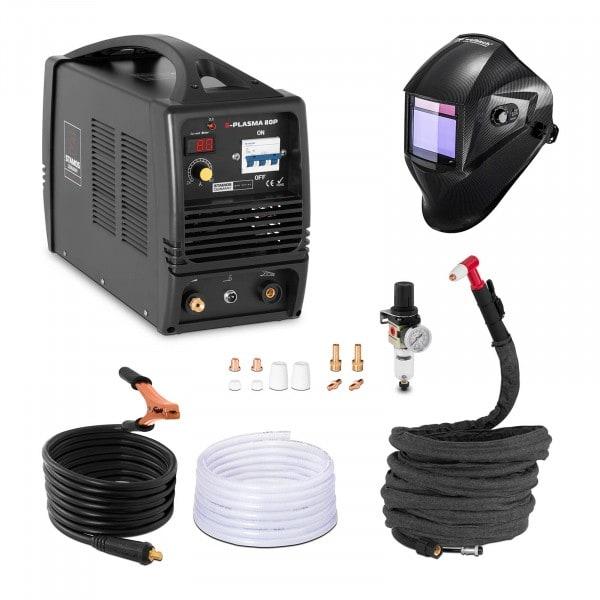 Schweißset Plasmaschneider - 80 A - 400 V + Schweißhelm – Carbonic