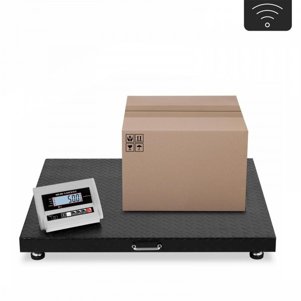 Bodenwaage - 3 t / 1.000 g - LCD - wireless