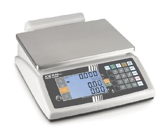 KERN Preisrechnende Waage Max 6 kg / 2g | 15 kg / 5 g