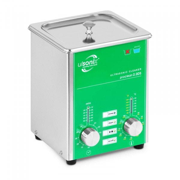 Ultraschallreiniger - 2 Liter - Degas - Sweep