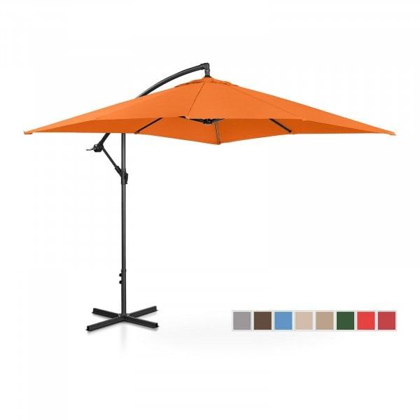 B-Ware Ampelschirm - orange - rechteckig - 250 x 250 cm - neigbar