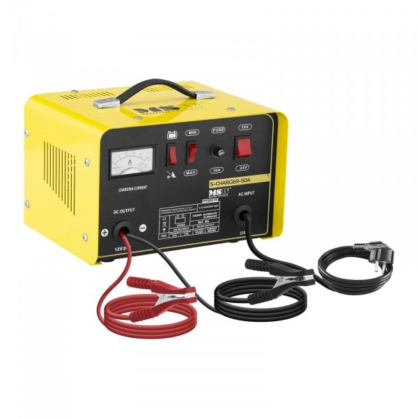 Autobatterie-Ladegerät - Starthilfe - 12/24 V - 20/30 A