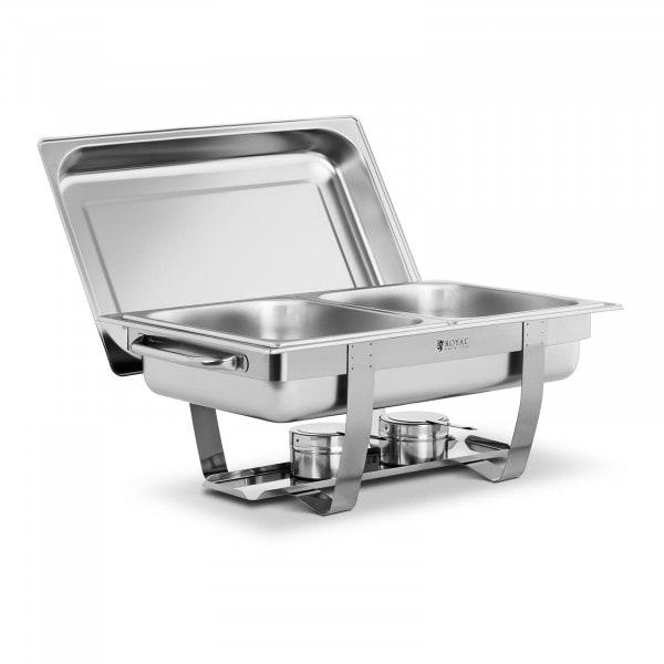 Chafing Dish - 2 x GN 1/2 - 11 L - 2 Brennstoffbehälter